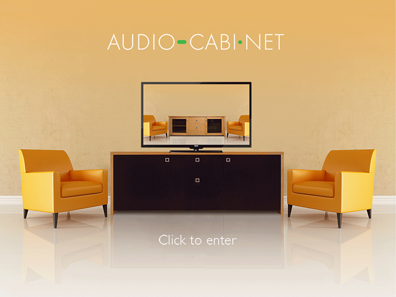 Audio-Cabinet Website Design and Management