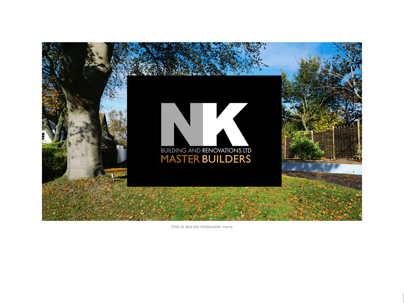 N K Building and Renovations website design and management